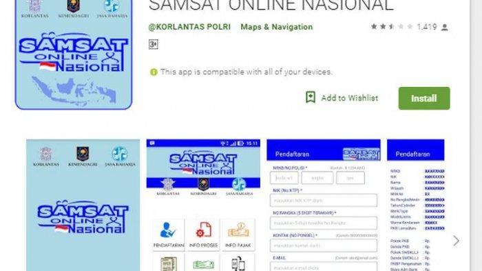 Langkah-Langkah Pembayaran Pajak Kendaraan Bermotor (PKB) Secara Online Melalui Aplikasi e-Samsat
