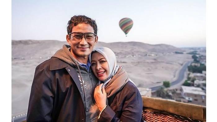 Sandiaga Uno & Istri Positif Covid-19, Kini Jalani Isolasi Mandiri: Setelah Kesulitan Ada Kemudahan