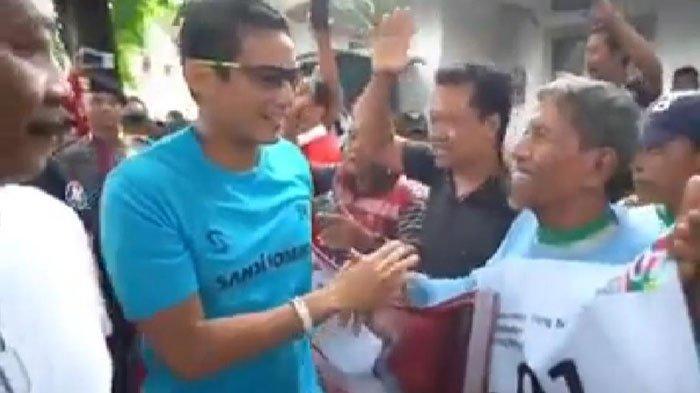 Komentar Sandiaga Uno saat Diteriaki Pendukung Jokowi di Bojonegoro: Yang Penting Tetap Damai