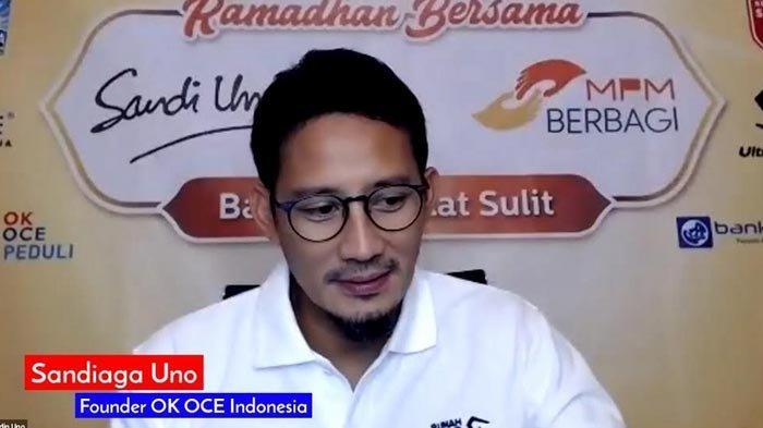 Lawan Jokowi Habis Rp 1 T, Sandiaga Uno Hartanya Kini Bertambah Puluhan Miliar Rupiah, Sumbernya?