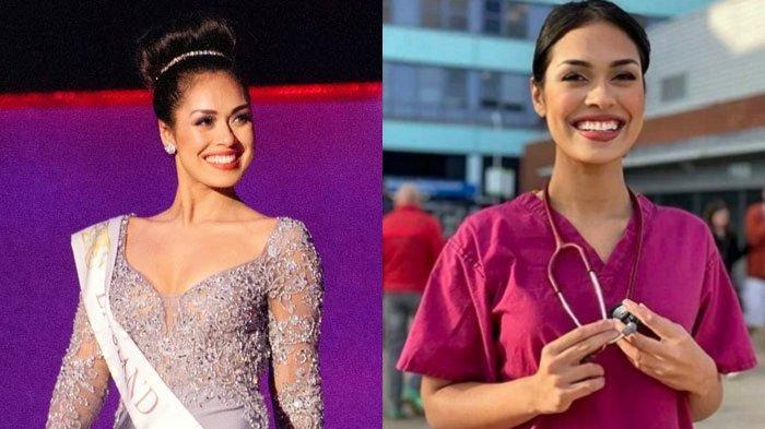 Copot Mahkotanya, Sang Ratu Kecantikan Pilih Bekerja Lagi sebagai Dokter Bantu Rawat Pasien Covid-19