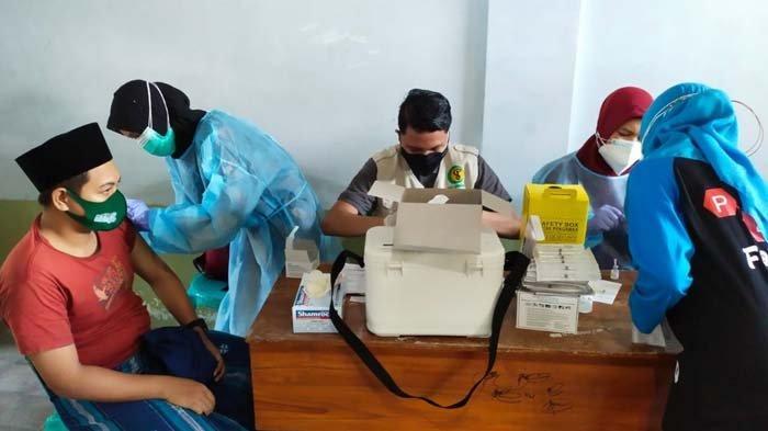 5.000 Santri Pondok Pesantren Lirboyo Kediri Ikuti Vaksinasi Covid-19, Percepat Herd Immunity