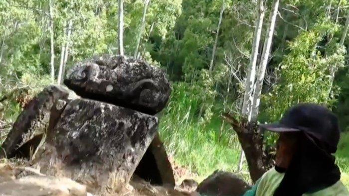 Banyak Arca Situs Kuno Majapahit di Bukit Sepi Angin, Lawu, Magetan Raib