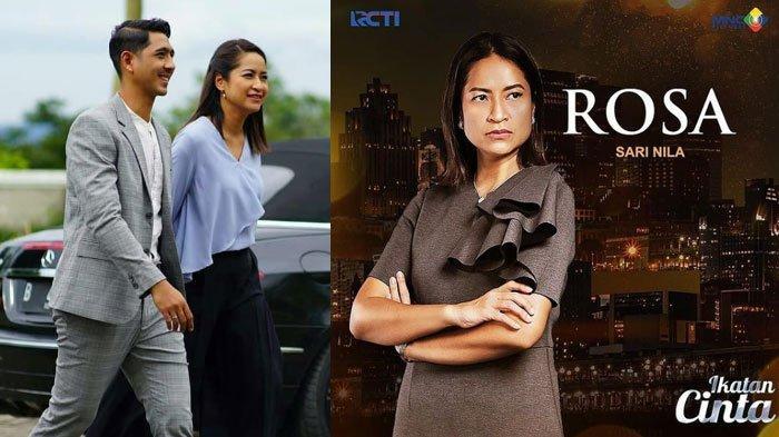 Potret Sari Nila, pemeran Mama Rosa atau ibunda Aldebaran (Arya Saloka) di sinetron Ikatan Cinta RCTI.