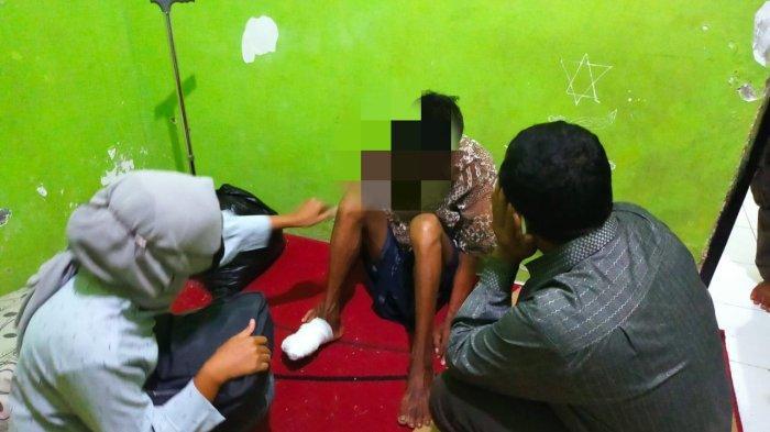Penderita ODGJ di Sampang Jadi Korban Tabrak Lari, Akhirnya Dijemput Kerabat