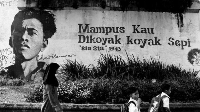Sastrawan Chairil Anwar Akan Diangkat Ke Layar Lebar Ini Lengkapnya Tribun Jatim