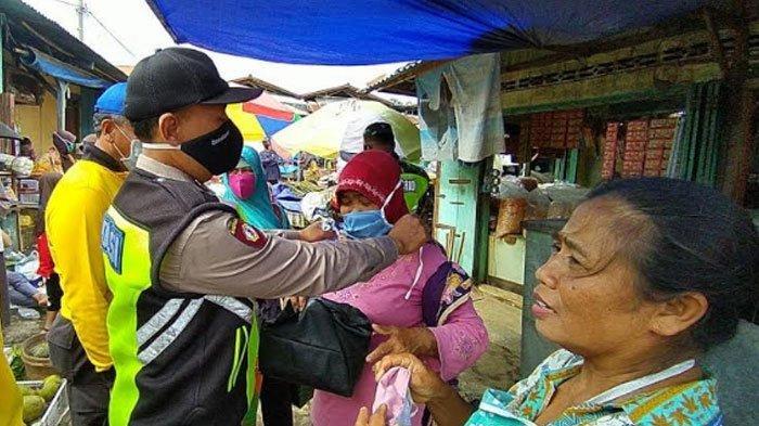 Kabupaten Nganjuk Zona Merah Covid-19, Satgas Tingkatkan Penegakan Disiplin Protokol Kesehatan