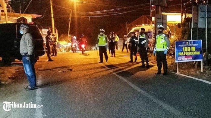 250 Kendaraan Mau Masuk ke Pasuruan Putar Balik, Satlantas Tingkatkan Kinerja 7 Pos Penyekatan