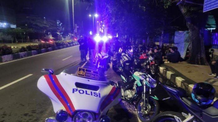 Balap Liar di Kota Malang Digrebek, Polisi Amankan Belasan Sepeda Motor