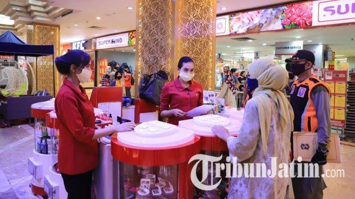 PSBB Surabaya, Satpol PP Berpatroli di Mall, Sosialisasi Tenant yang Tak Boleh Buka