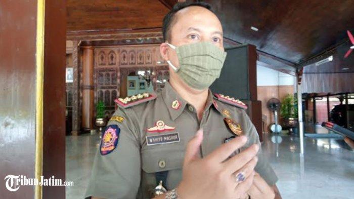 10 Anggota Satpol PP Tulungagung Positif Covid-19 Diisolasi di Rusunawa IAIN, Kinerja 'Aman'