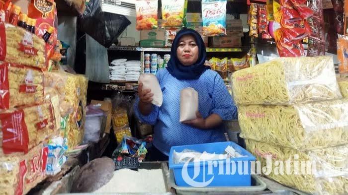 Imbas Virus Corona, Harga Gula di Pasar Tradisional Surabaya Meroket, Capai Rp 18 Ribu per Kilo