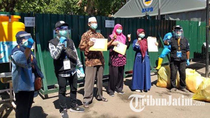 Tingkat Kesembuhan Pasien di RS Lapangan Covid-19 Jawa Timur 70%, Hari Ini Total 192 Fix Negatif