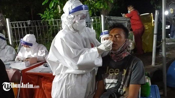 41 KTP Pengendara Kabur dari Tes Kesehatan Jembatan Suramadu Disita Satpol PP Surabaya
