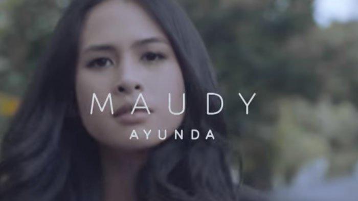 Lirik Lagu Romantis 'Tiba-tiba Cinta Datang' Maudy Ayunda, Kunci F: Saat Ku Sendiri Ku Bayangkan Dia