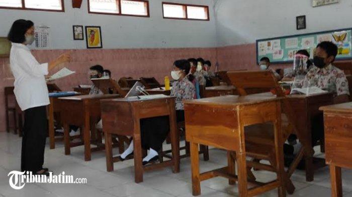 Orang Tua Khawatir Virus Corona, 5 Persen Siswa di Kota Blitar Belum Ikuti Pembelajaran Tatap Muka