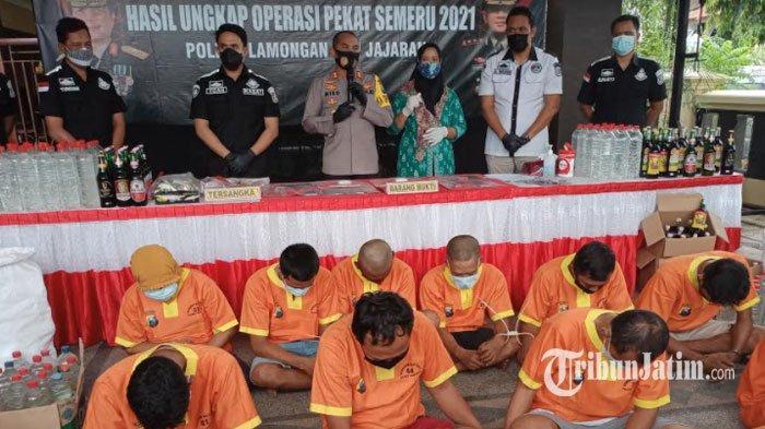 Berhasil Ungkap 266 Kasus Pidana, Polres Lamongan Raih Rangking ke-10 di Jajaran Polres Polda Jatim