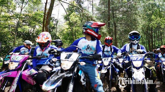 Keindahan Alam Malang Saksi Ketangguhan Yamaha WR 155, Bumi Aji dan Jurang Kuali Jadi Rute Surga