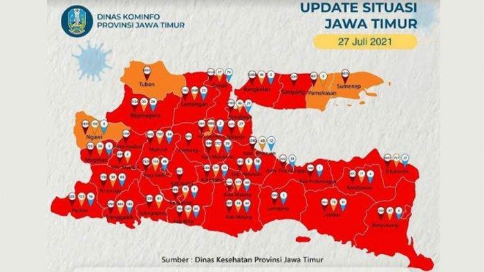 Kabupaten Tuban Kembali Zona Orange Covid-19, Satgas Ingatkan 'Tetap Patuh Protokol Kesehatan'
