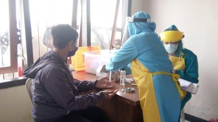 Hasil Rapid Test 102 Petugas Verifikasi Faktual KPU Kota Blitar, 13 Orang Reaktif Covid-19