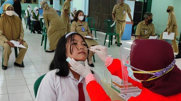 Wajib Tes Antigen Sebelum PTM, 9 Siswa dan 1 Guru di Kota Madiun Positif Covid-19