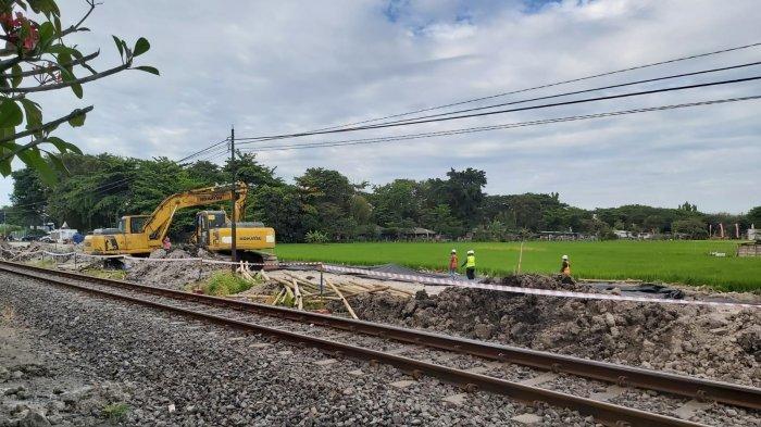 Sebagian Lahan Frontage Road di Sidoarjo Mulai Dibangun, Bagian Lain Belum Dibebaskan