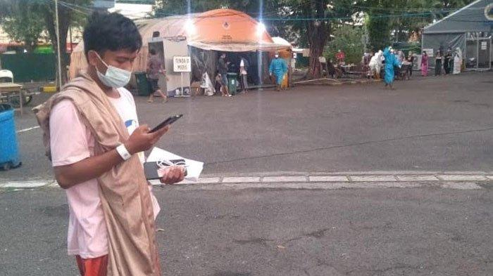 Terus Dibanjiri Pasien Covid-19, RS Lapangan Indrapura Surabaya Sisakan 50 Bed
