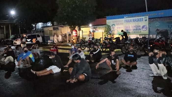 Balap Liar di Kota Blitar Resahkan Masyarakat, Polisi Amankan Puluhan Pemuda dan Sita Belasan Motor