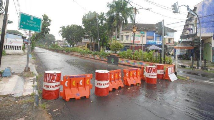 Madiun Dikepung Zona Merah Covid-19, Pemkot Tutup 11 Ruas Jalan Utama, Akan Berlangsung 24 Jam