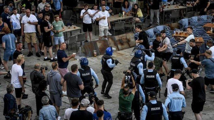 Jelang Final Liga Champions, Suporter Chelsea dan Manchester City Terlibat Bentrok dengan Polisi