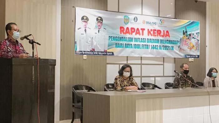 Antisipasi Inflasi Jelang Lebaran 2021, TPID Nganjuk Intensif Lakukan Pemantauan Harga Barang