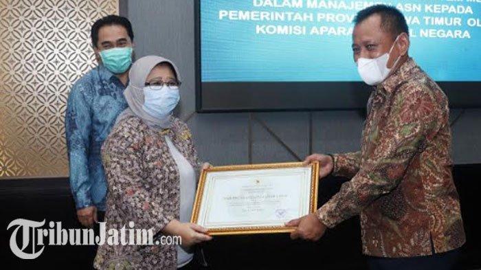 Sistem Merit Pemprov Jatim Raih Penghargaan dari KASN, Catat Skor 332 Tertinggi se-Indonesia