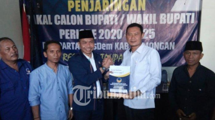 Wakil Bupati dan Sekretaris Kabupaten Lamongan Berebut Kursi Calon Bupati via Nasdem