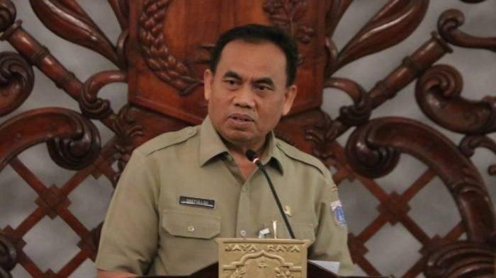 Sekretaris Daerah Provinsi DKI Jakarta, Saefullah.