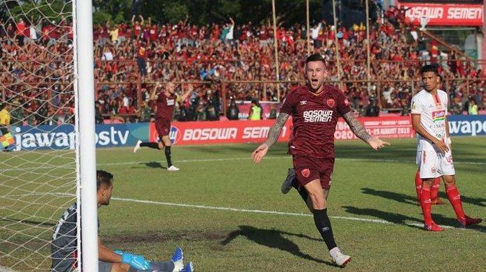 Babak Pertama PSM Vs Persija Jakarta, Diwarnai Kartu Merah, Juku Eja Ungguli Macan Kemayoran 1-0