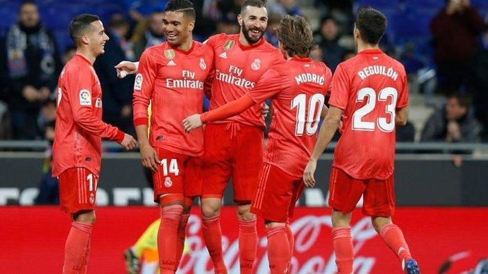 Espanyol Vs Real Madrid, Kartu Merah dan Drama 6 Gol Mewarnai Kemenangan Real Madrid atas Espanyol
