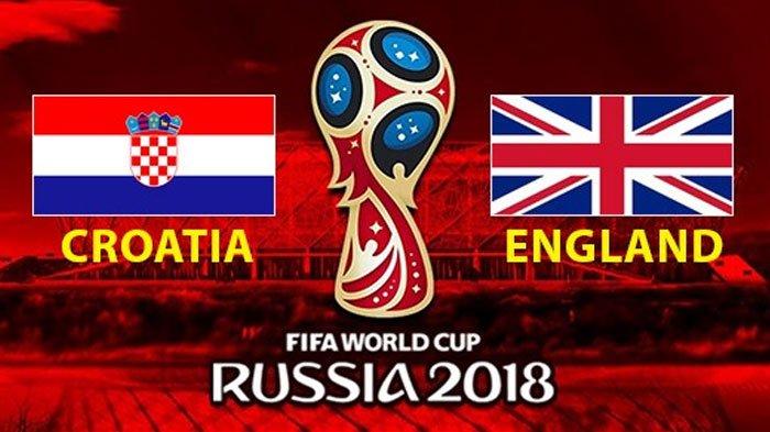 Semifinal Piala Dunia 2018 Inggris Vs Kroasia, Laga Rebutan Tiket Final, ini Prediksi Susunan Pemain