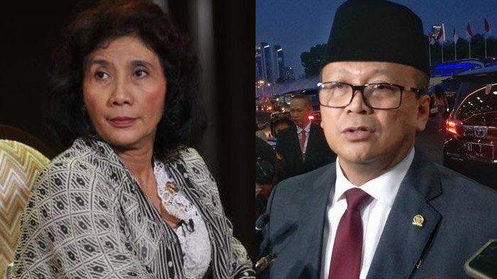 Kilas Balik 'Pertarungan Kebijakan' Edhy Prabowo Vs Susi Pudjiastuti, Ekspor Benih Lobster Dikritisi