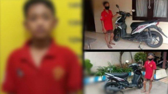 Bocah SD di Madiun Curi 3 Motor di Halaman Masjid, Modus Pura-pura Mau Salat, Ketahuan Saat Beraksi