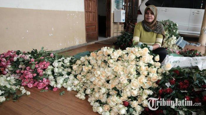 Bisnis Bunga di Kota Batu Kembali Mekar, Terima Banyak Pesanan dari Pulau Dewata