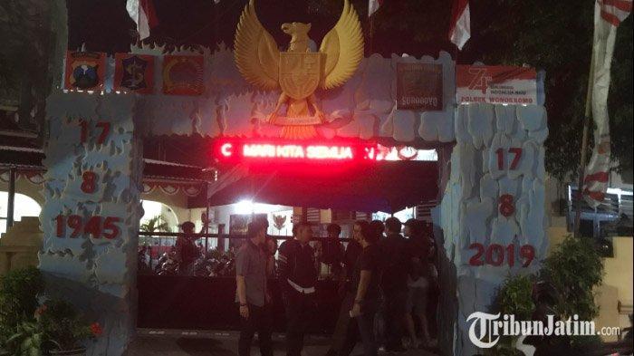 UPDATE Penyerangan Polsek Wonokromo, Pura-Pura Melapor, Orang Tak Dikenal Serang Polisi yang Berjaga