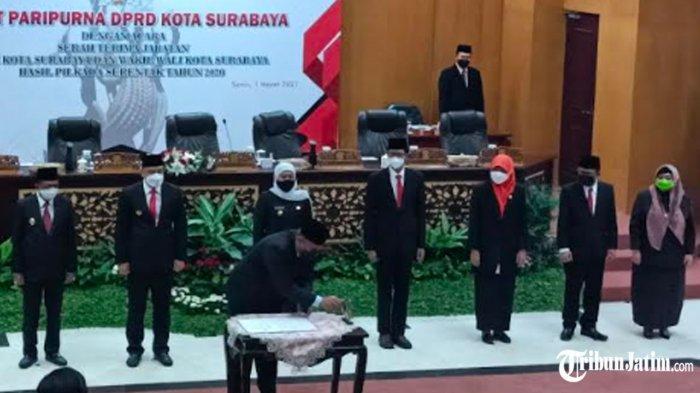 Resmi Pimpin Kota Pahlawan, Wali Kota Eri Cahyadi Geber 10 Kebijakan Strategis di Surabaya