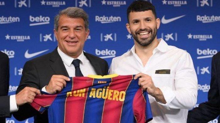 Sergio Aguero Blak-blakan Soal Perbedaan Latihan di Barcelona dan Manchester City