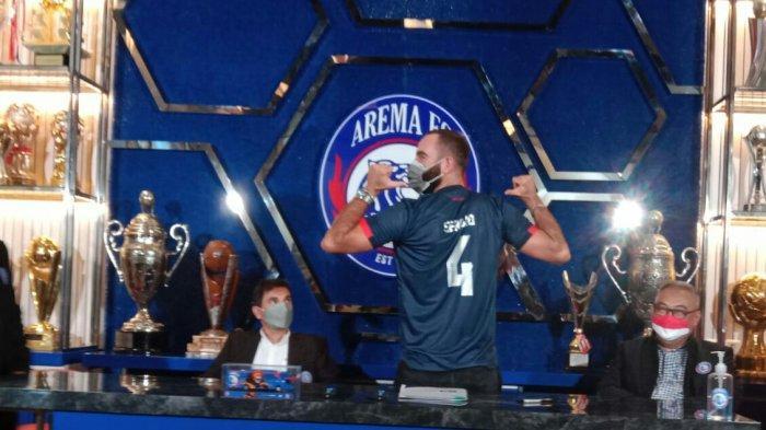 Sergio Silva Ungkap Alasan Gabung Arema FC