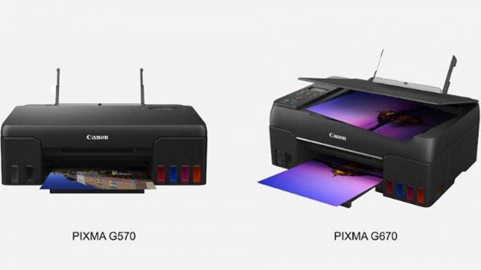 PIXMA Ink Efficient Seri G Punya 6 Tangki Warna, Efisien Tinta, Cocok untuk Print Foto Berkualitas