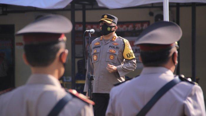 Sertijab Pejabat Utama Polres Madiun, Kasatlantas dan Kasat Binmas Diganti