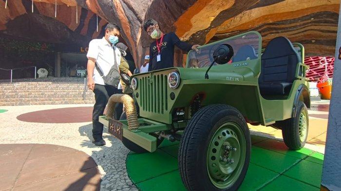 Gelis Mini Jeep Kendaraan Wisata Ramah Lingkungan Dibanderol Rp 70 Juta, Ini Spesifikasinya