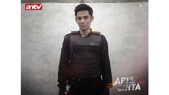 Shandy William Jadi Polisi di Sinetron Laga 'Api & Cinta' ANTV, Adegan Action hingga Bengkak