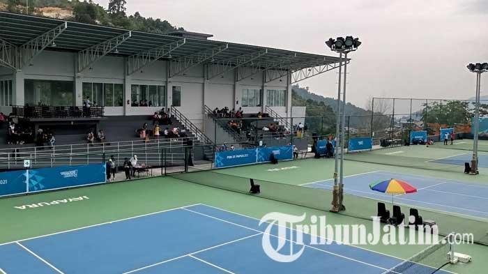 Tenis PON XX Papua 2021 - Jawa Timur Sapu Bersih Kemenangan di Laga Perdana