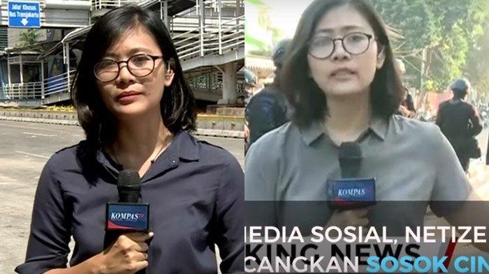Siapa Cindy Reporter Kompas TV? Viral Saat Aksi 22 Mei, Keyword 'Biodata Cindy Permadi' Ramai Dicari